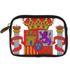 Coat Of Arms Of Spain Digital Camera Leather Case