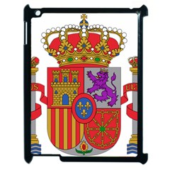 Coat Of Arms Of Spain Apple Ipad 2 Case (black) by abbeyz71