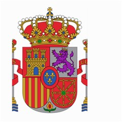 Coat Of Arms Of Spain Large Garden Flag (two Sides) by abbeyz71