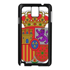 Coat Of Arms Of Spain Samsung Galaxy Note 3 N9005 Case (black) by abbeyz71