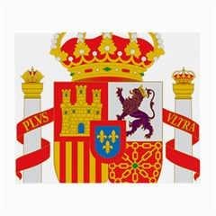 Coat Of Arms Of Spain Small Glasses Cloth by abbeyz71