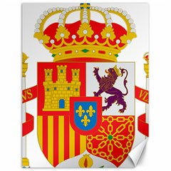 Coat Of Arms Of Spain Canvas 12  X 16  by abbeyz71