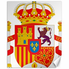 Coat Of Arms Of Spain Canvas 16  X 20  by abbeyz71