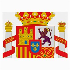 Coat Of Arms Of Spain Large Glasses Cloth (2 Side) by abbeyz71