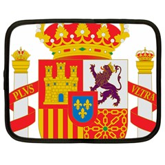 Coat Of Arms Of Spain Netbook Case (large) by abbeyz71