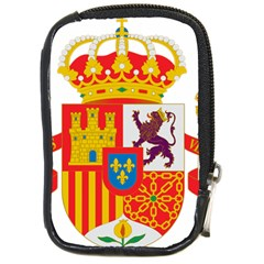 Coat Of Arms Of Spain Compact Camera Leather Case by abbeyz71