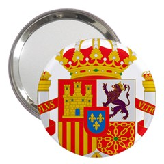 Coat Of Arms Of Spain 3  Handbag Mirrors by abbeyz71