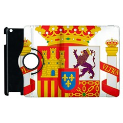 Coat Of Arms Of Spain Apple Ipad 2 Flip 360 Case
