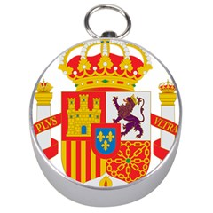 Coat Of Arms Of Spain Silver Compasses by abbeyz71