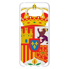 Coat Of Arms Of Spain Samsung Galaxy S8 Plus White Seamless Case by abbeyz71