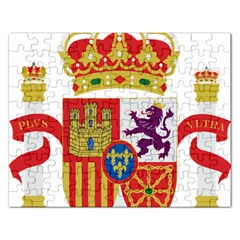 Coat Of Arms Of Spain Rectangular Jigsaw Puzzl by abbeyz71