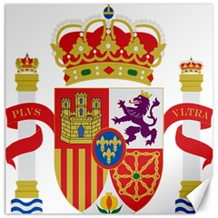 Coat Of Arms Of Spain Canvas 12  X 12  by abbeyz71