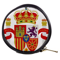 Coat Of Arms Of Spain Mini Makeup Bag by abbeyz71