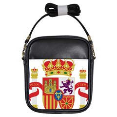 Coat Of Arms Of Spain Girls Sling Bag by abbeyz71