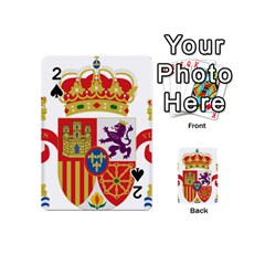 Coat Of Arms Of Spain Playing Cards 54 (mini) by abbeyz71