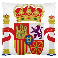 Coat Of Arms Of Spain Large Cushion Case (one Side)