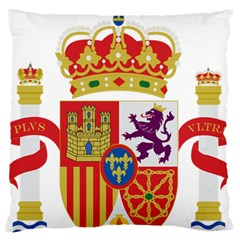 Coat Of Arms Of Spain Standard Flano Cushion Case (one Side) by abbeyz71