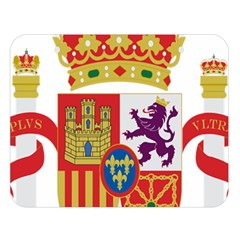 Coat Of Arms Of Spain Double Sided Flano Blanket (large)