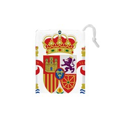 Coat Of Arms Of Spain Drawstring Pouch (xs) by abbeyz71