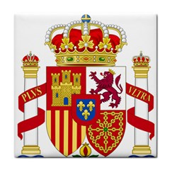 Coat Of Arms Of Spain Tile Coasters by abbeyz71