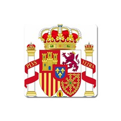Coat Of Arms Of Spain Square Magnet by abbeyz71