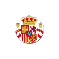 Coat Of Arms Of Spain Golf Ball Marker (10 Pack) by abbeyz71