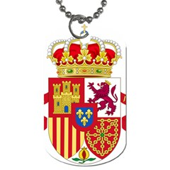 Coat Of Arms Of Spain Dog Tag (two Sides) by abbeyz71
