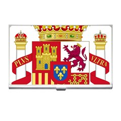 Coat Of Arms Of Spain Business Card Holder