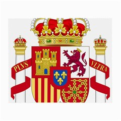 Coat Of Arms Of Spain Small Glasses Cloth