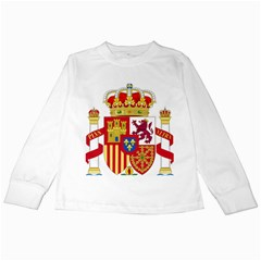 Coat Of Arms Of Spain Kids Long Sleeve T-shirts by abbeyz71