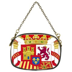 Coat Of Arms Of Spain Chain Purse (two Sides) by abbeyz71