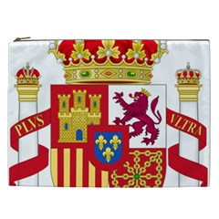 Coat Of Arms Of Spain Cosmetic Bag (xxl)