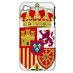 Coat Of Arms Of Spain Apple Iphone 4/4s Hardshell Case (pc+silicone) by abbeyz71