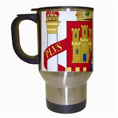 Coat Of Arms Of Spain Travel Mugs (white) by abbeyz71