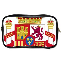 Coat Of Arms Of Spain Toiletries Bag (one Side) by abbeyz71