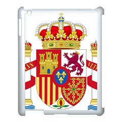 Coat Of Arms Of Spain Apple Ipad 3/4 Case (white) by abbeyz71