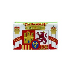 Coat Of Arms Of Spain Cosmetic Bag (xs) by abbeyz71