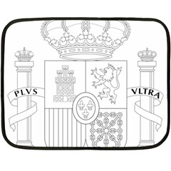 Coat Of Arms Of Spain Double Sided Fleece Blanket (mini)