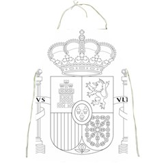 Coat Of Arms Of Spain Full Print Aprons