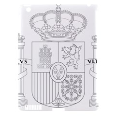 Coat Of Arms Of Spain Apple Ipad 3/4 Hardshell Case (compatible With Smart Cover) by abbeyz71