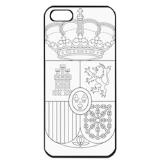 Coat Of Arms Of Spain Apple Iphone 5 Seamless Case (black) by abbeyz71