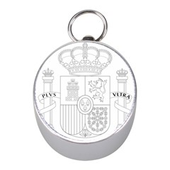 Coat Of Arms Of Spain Mini Silver Compasses by abbeyz71