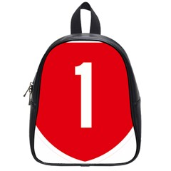 New Zealand State Highway 1 School Bag (small) by abbeyz71