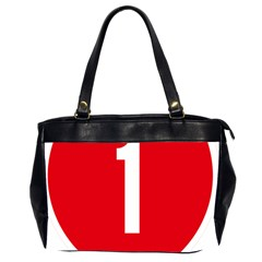 New Zealand State Highway 1 Oversize Office Handbag (2 Sides) by abbeyz71