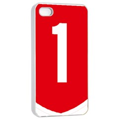 New Zealand State Highway 1 Apple Iphone 4/4s Seamless Case (white) by abbeyz71
