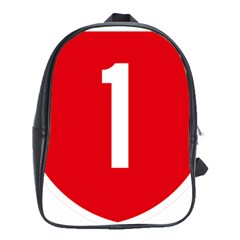 New Zealand State Highway 1 School Bag (xl) by abbeyz71
