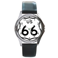 Route 66 Round Metal Watch by abbeyz71