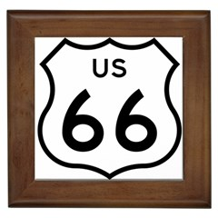 Route 66 Framed Tiles by abbeyz71