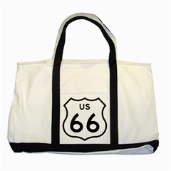 Route 66 Two Tone Tote Bag by abbeyz71