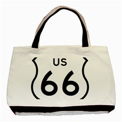 Route 66 Basic Tote Bag (two Sides) by abbeyz71